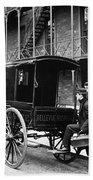 New York: Ambulance, 1895 Bath Towel