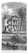 New York: Mansion, 1760 Bath Towel