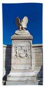New York Monument Bath Towel