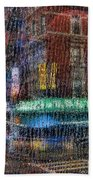 New York Street Bath Towel