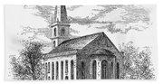 New York: Trinity Church Bath Towel