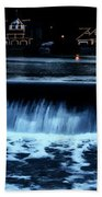 Nighttime At Boathouse Row Hand Towel