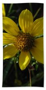 Nodding Bur Marigold Bath Towel