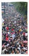 Notting Hill Carnival Bath Towel