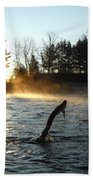 November Morning Mist Bath Towel