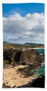 Oahu Coastal Getaway Bath Towel