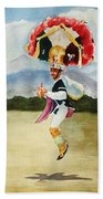 Oaxaca Dancers Bath Towel