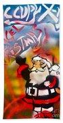Occupy Christmas Bath Towel