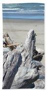 Ocean Beach Driftwood Art Prints Coastal Shore Bath Towel