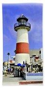 Oceanside Lighthouse Bath Towel