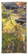 October Colors Reflected Bath Towel