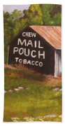 Ohio Mail Pouch Barn Bath Towel