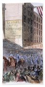 Ohio: Union Parade, 1861 Bath Towel