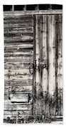 Old Barn Door Bath Towel