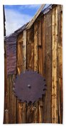 Old Building Bodie Ghost Town Hand Towel
