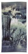 Old Cemetery On A Hill Bath Towel
