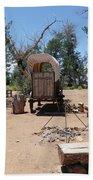 Old Chuck Wagon Bath Towel