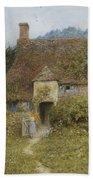 Old Cottage Witley Bath Towel