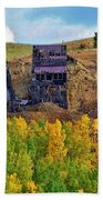 Old Cripple Creek Mine Bath Towel