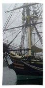 Old Massachusetts Sailing Ship Bath Towel