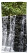 Old Mill Waterfall Hand Towel