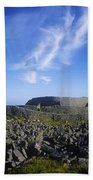 Old Ruins Of A Fort On The Landscape Bath Towel