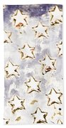 Old Stars Bath Towel