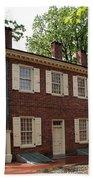 Old Town Philadelphia Brownstone House Bath Towel