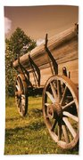 Old Wagon Bath Towel