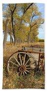 Old Wagon Bath Towel