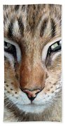 Oriental Cat Bath Towel