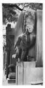 Oscar Wilde Monument Bath Towel