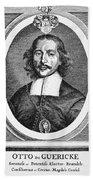 Otto Von Guericke (1602-1686) Bath Towel