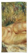 Outstretched Nude Bath Towel