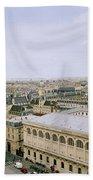 Looking Over Paris Hand Towel