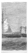 Paddle Wheel Packet Ship Bath Towel