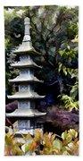 Pagoda Tower Of Zen Bath Towel