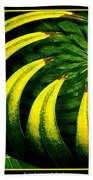 Palm Tree Abstract Bath Towel