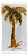 South Carolina Palm Tree Bath Towel