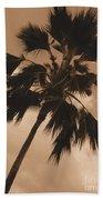 Palm Tree Leeward Oahu Bath Towel
