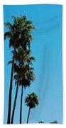 Palms Over Oak Bath Towel