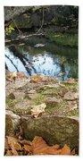 Paradise Springs Stone Wall Bath Towel