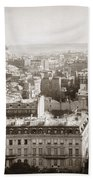 Paris: Aerial View, 1900 Bath Towel