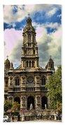 Paris Church Bath Towel