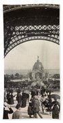 Paris Exposition, 1889 Bath Towel