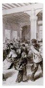Paris: Pawnbroker, 1868 Bath Towel