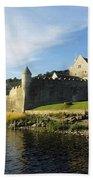 Parkes Castle, Co Leitrim, Ireland Bath Towel