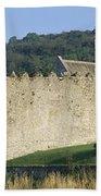 Parkes Castle,co Sligo,irelandpanoramic Bath Towel