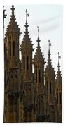 Parliament's Spires Bath Towel