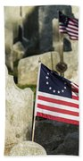 Patriot Cemetery Bath Towel